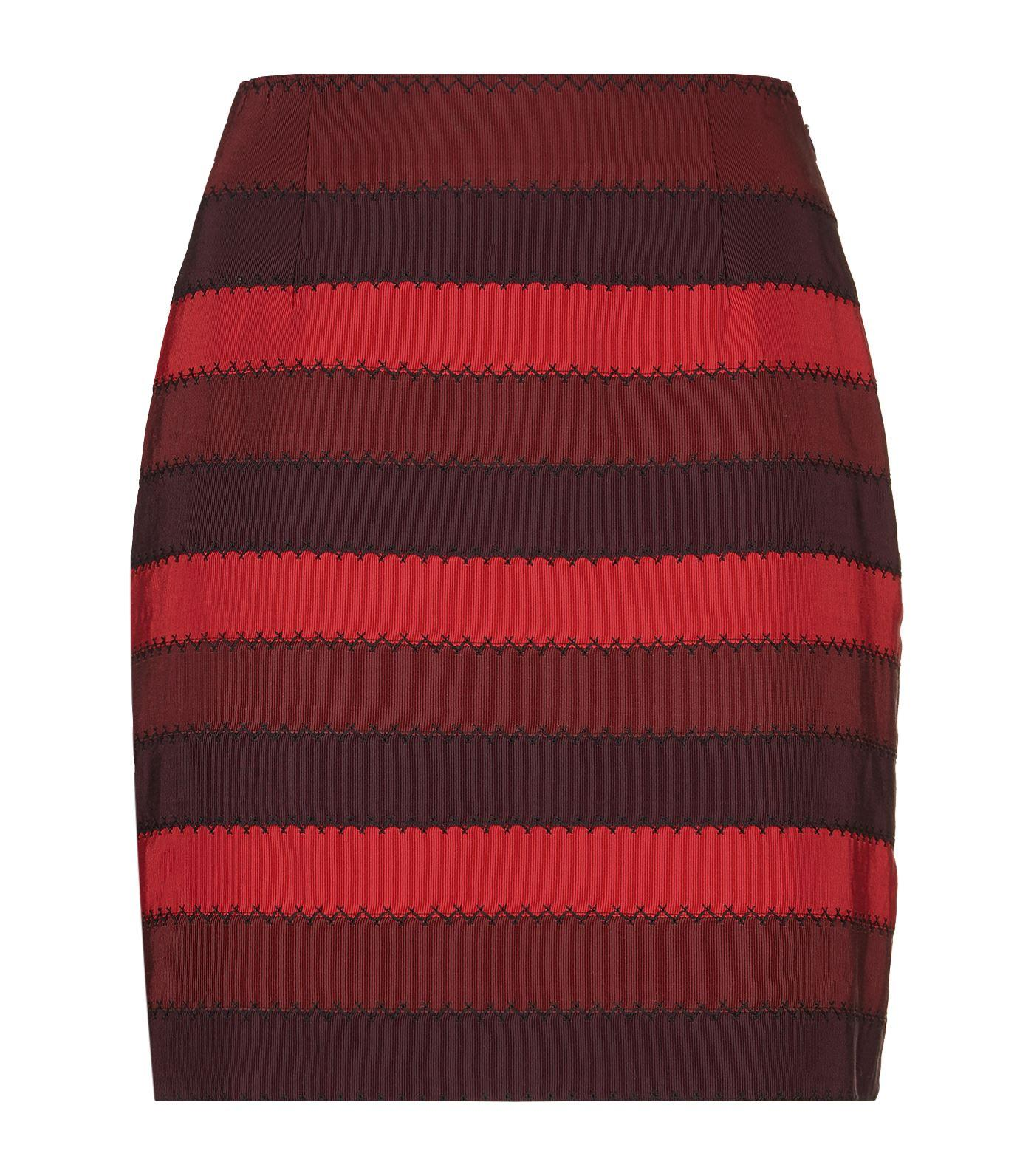 Mary katrantzou Clovis Mini Skirt in Red