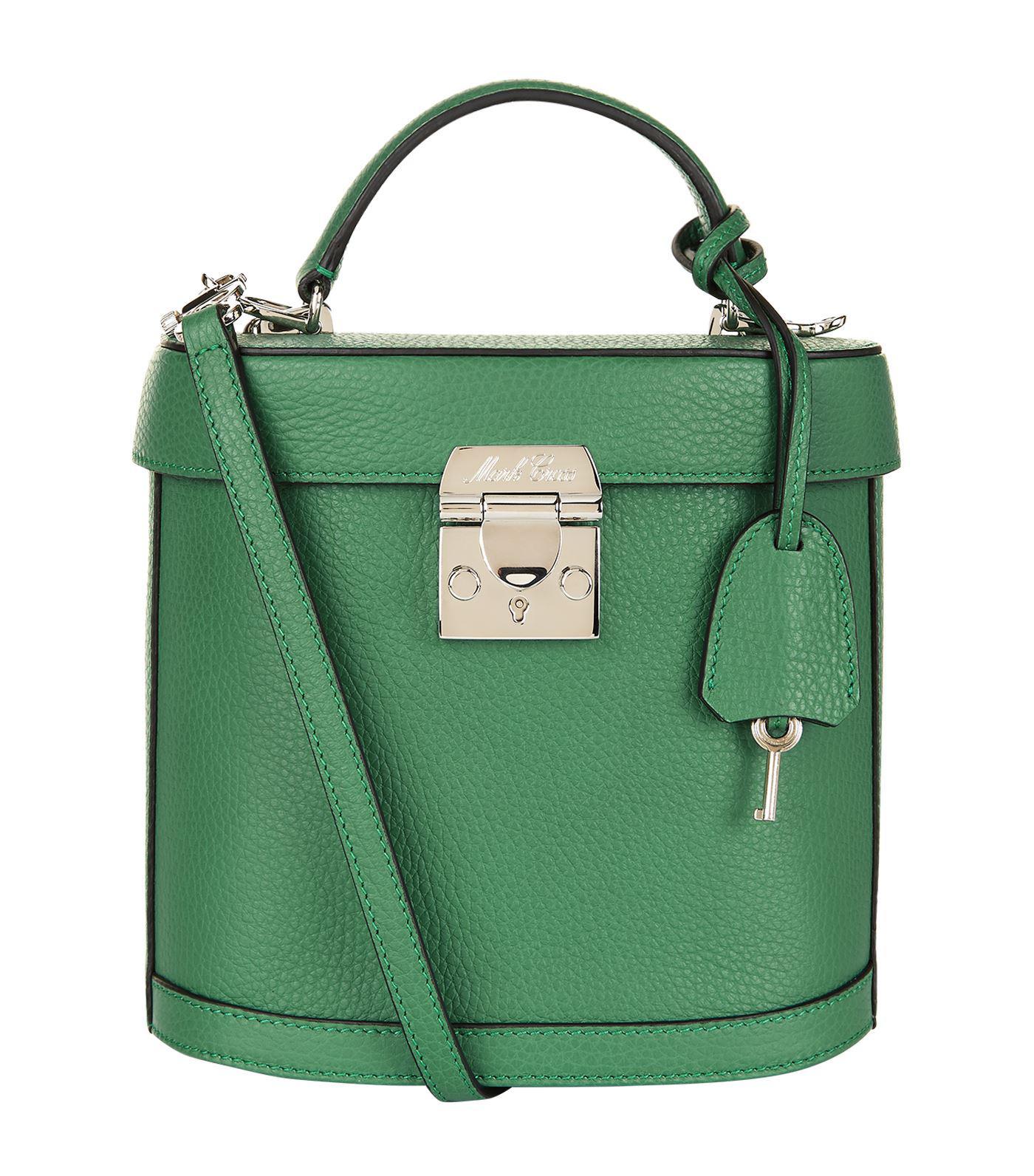Benchley grained-leather shoulder bag Mark Cross ATslf