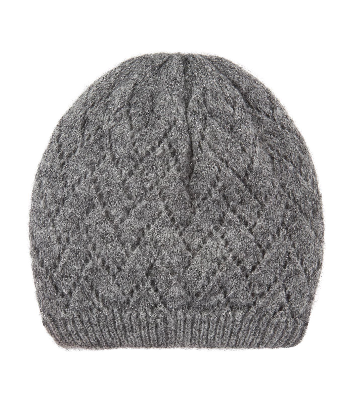 2ecf58c9cf7 Sandro Shimmer Beanie Hat in Black - Lyst