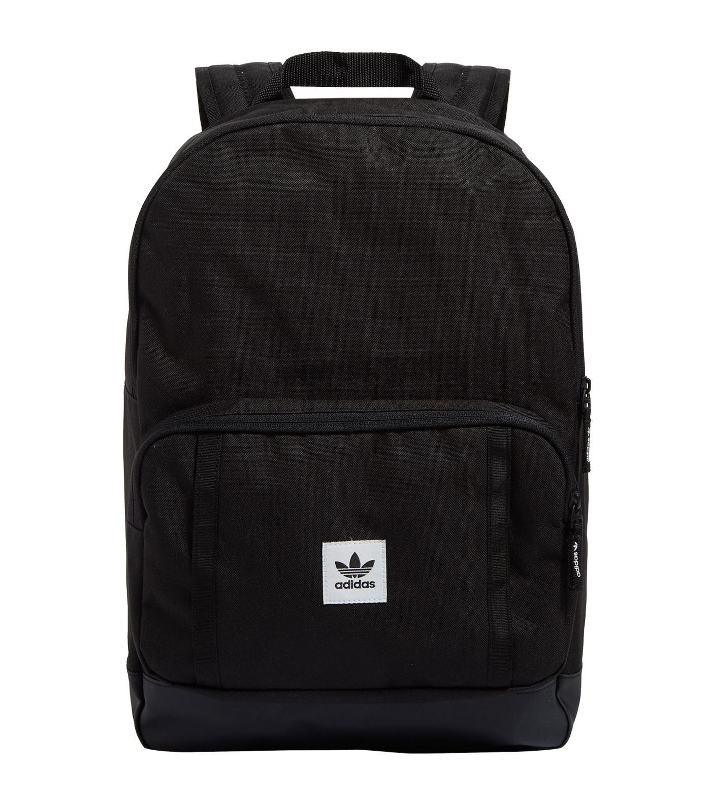 Adidas Originals Classic Backpack in Black - Lyst 0e093decf8