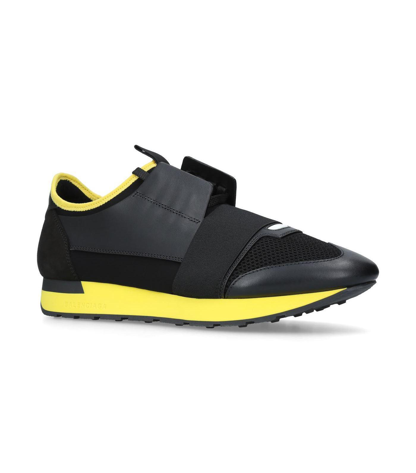 ca885b555741 Lyst - Balenciaga Race Runner Sneakers in Blue for Men