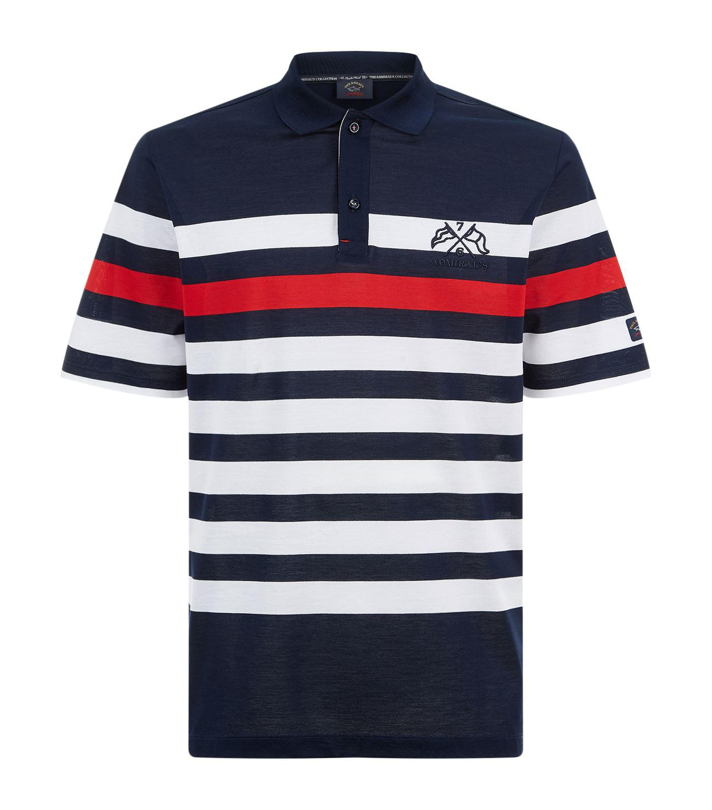 3948dce3 Paul & Shark Admiral Polo Shirt in Blue for Men - Lyst