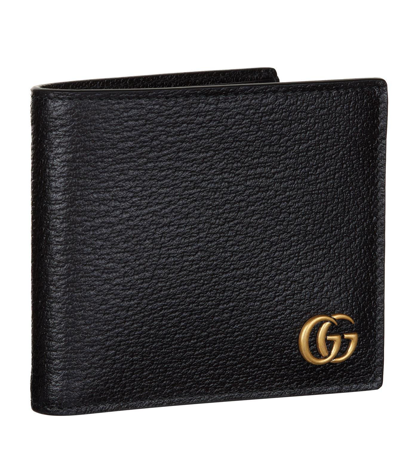e3ea4670adb6 Lyst - Gucci Gg Supreme Web Bifold Wallet in Black for Men