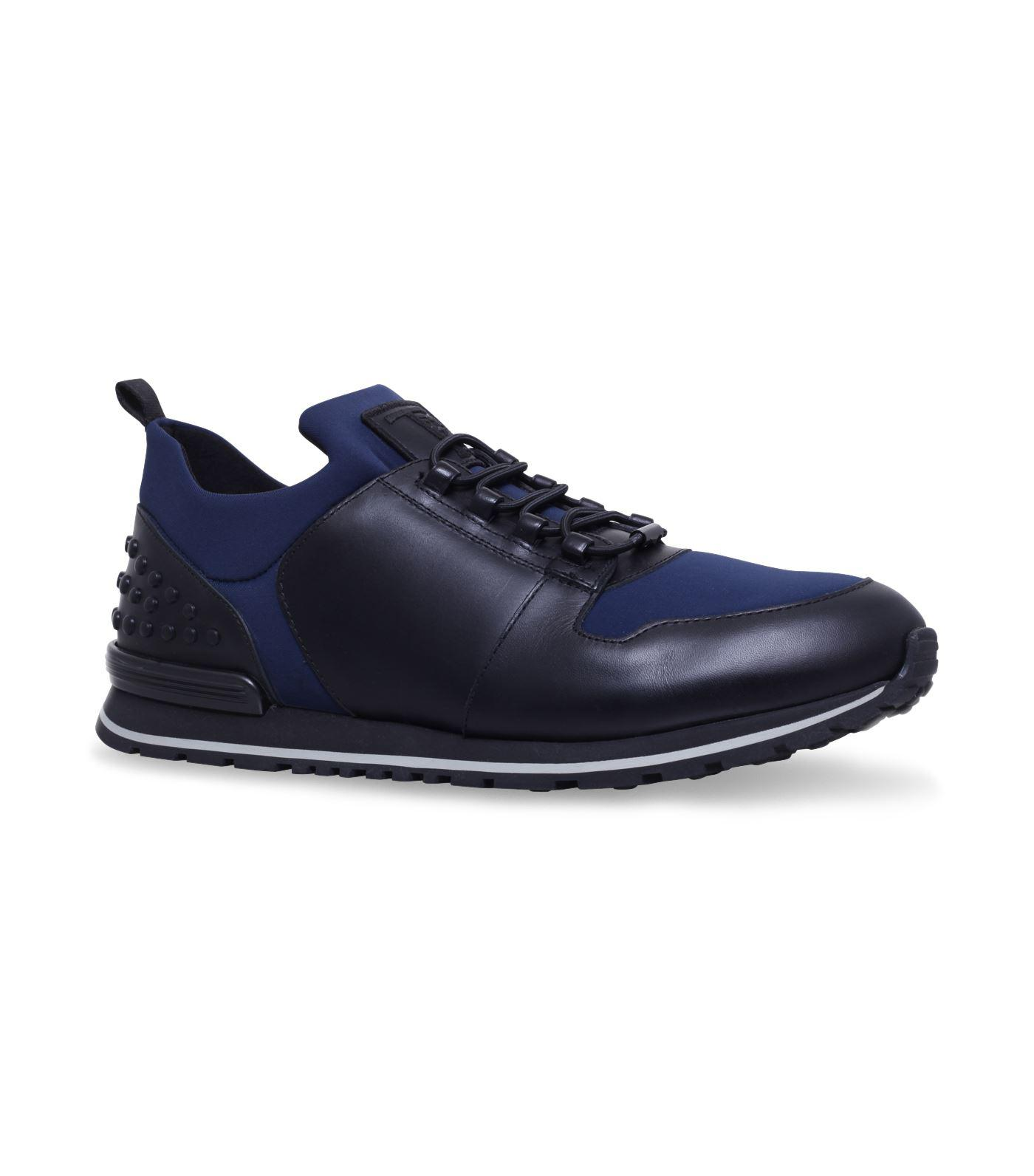 NO_CODE Sneakers in Leather and Scuba-Effect Fabric Tod's GVvDYXg