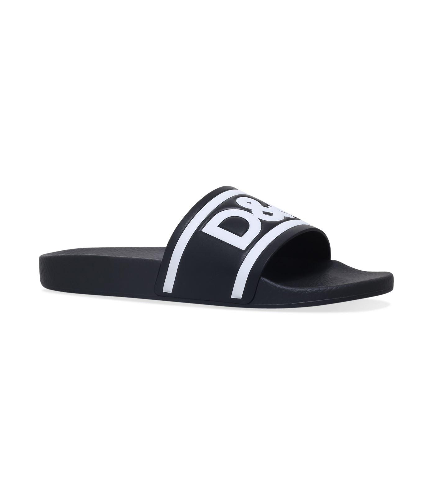 Wide Range Of Sale Online Discount Outlet Sandals SAINT BARTH leather white bordeaux logo Dolce & Gabbana o9bYps0