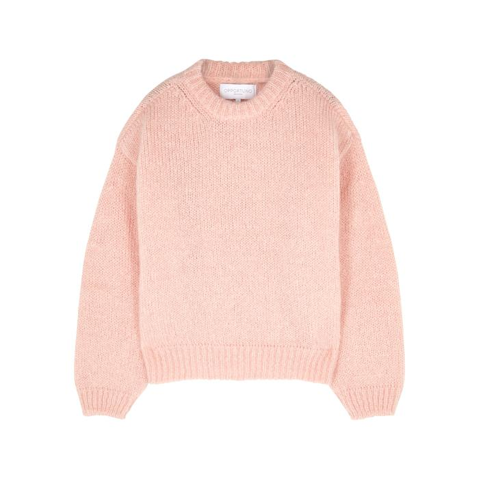 f0671fac4b8b Opportuno Khloe Chunky-knit Mohair-blend Jumper in Pink for Men - Lyst