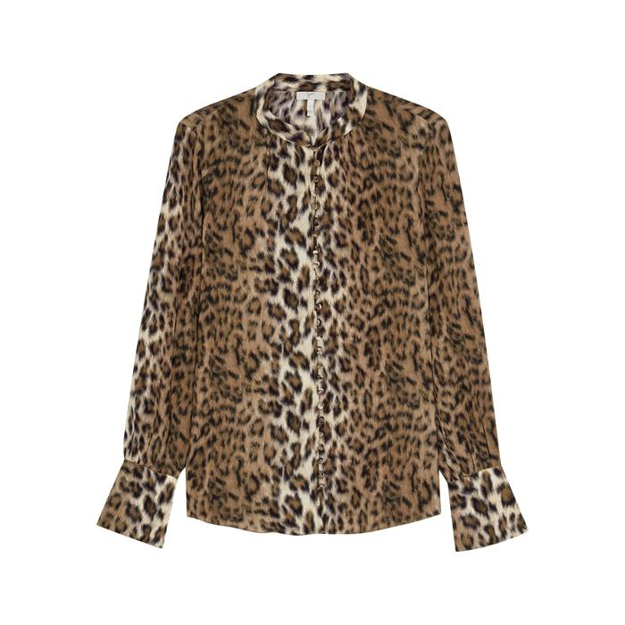 32a98199025 Joie Tariana Leopard-print Shirt in Brown - Lyst