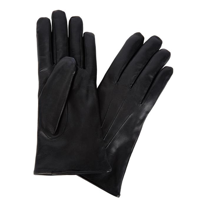 7b1d7171c52d6 Dents Fur-Lined Leather Gloves in Black - Save 4% - Lyst