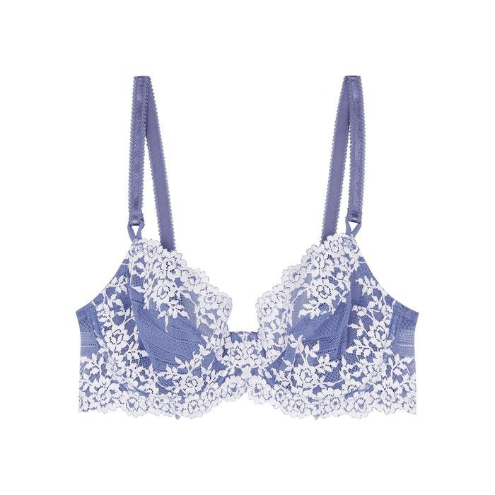 ff4c8aeee4213 Wacoal. Women s Blue Embrace Embroidered Underwired Bra. £44 From Harvey  Nichols