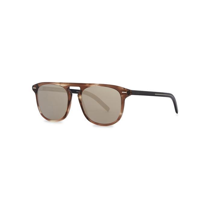 d2faabdfe0 Dior Homme Blacktie 0249s Mirrored Sunglasses for Men - Lyst