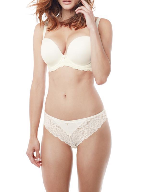 fc620623c16 Panache Quinn Bridal Moulded Plunge Strapless Bra Plus Size in White - Lyst