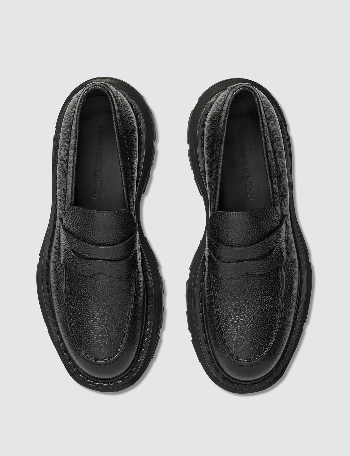 0540ea8d6f50f Lyst - Alexander Mcqueen Leather Shoes in Black for Men