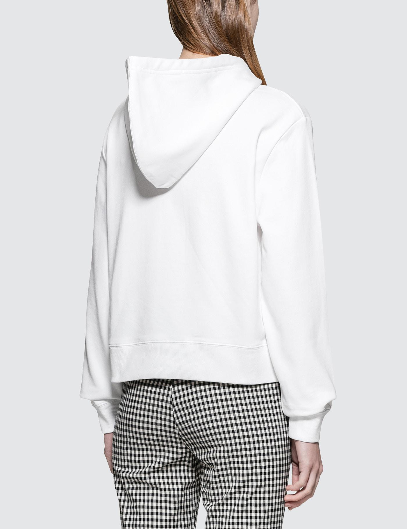 a38ae533e62d Lyst - Calvin Klein Harrison True Icon Hoodie in White