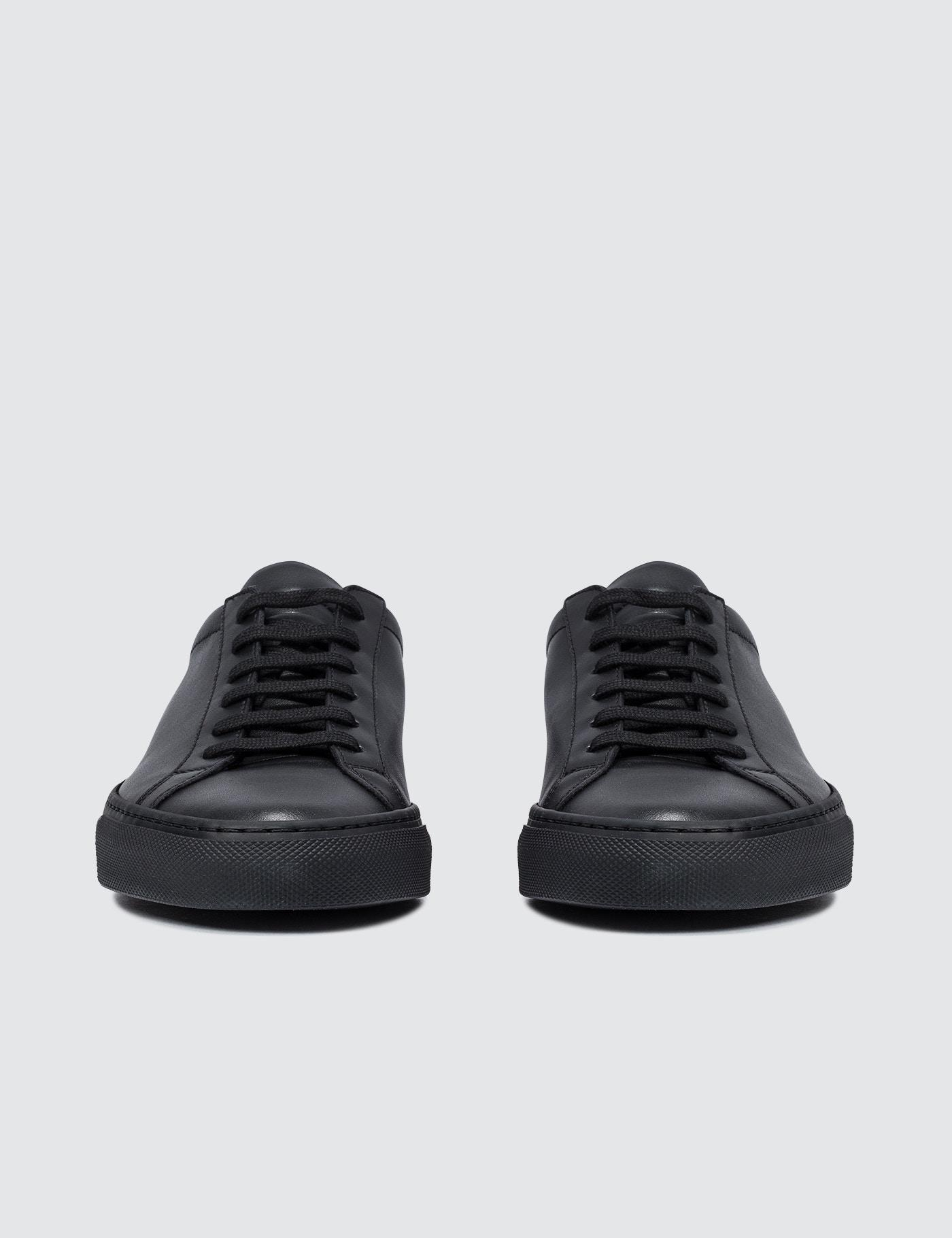 1fc444aac023 Lyst - Common Projects Original Leather Achilles Low in Black