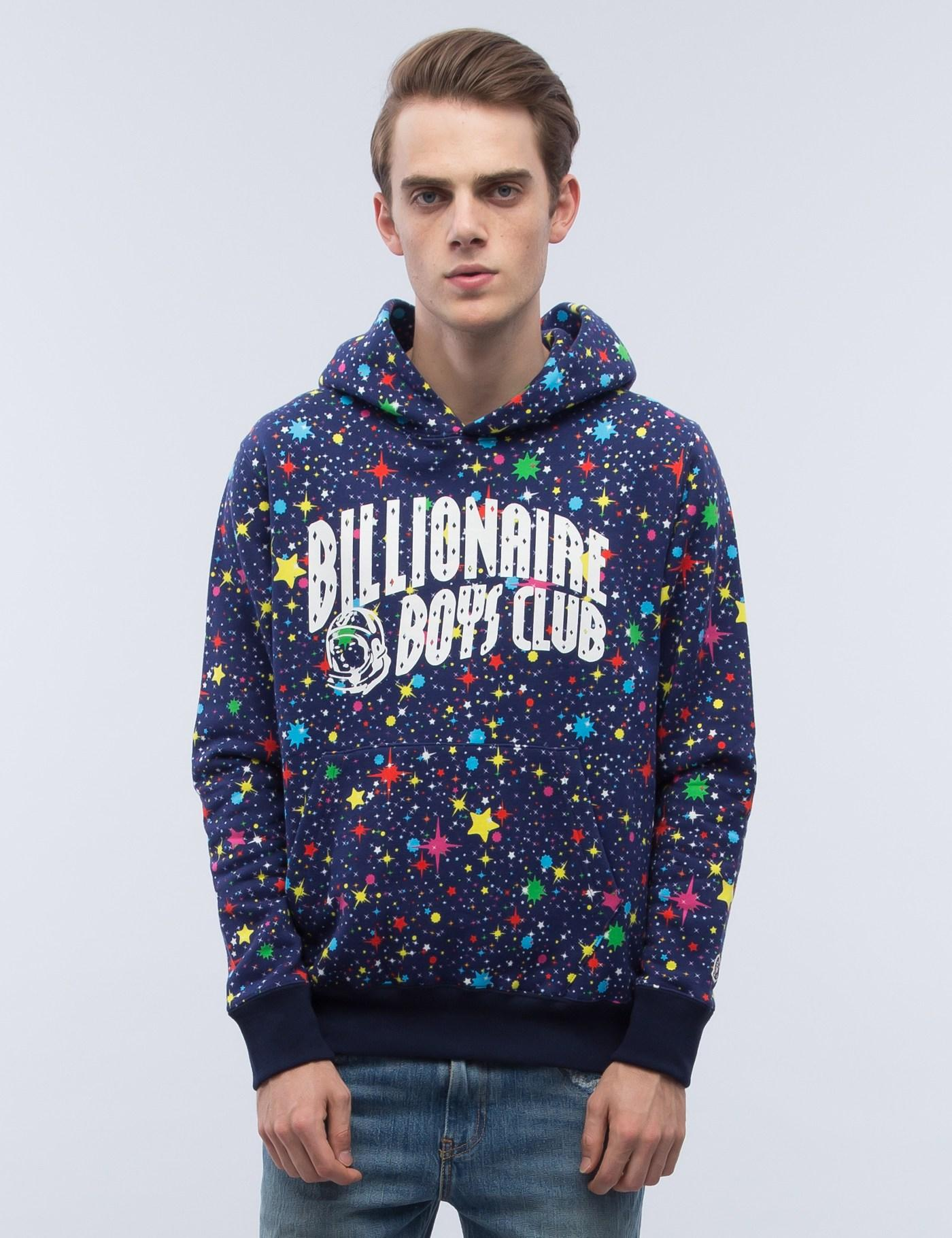 Lyst Bbcicecream All Over Starfield Hoodie In Brown For Men