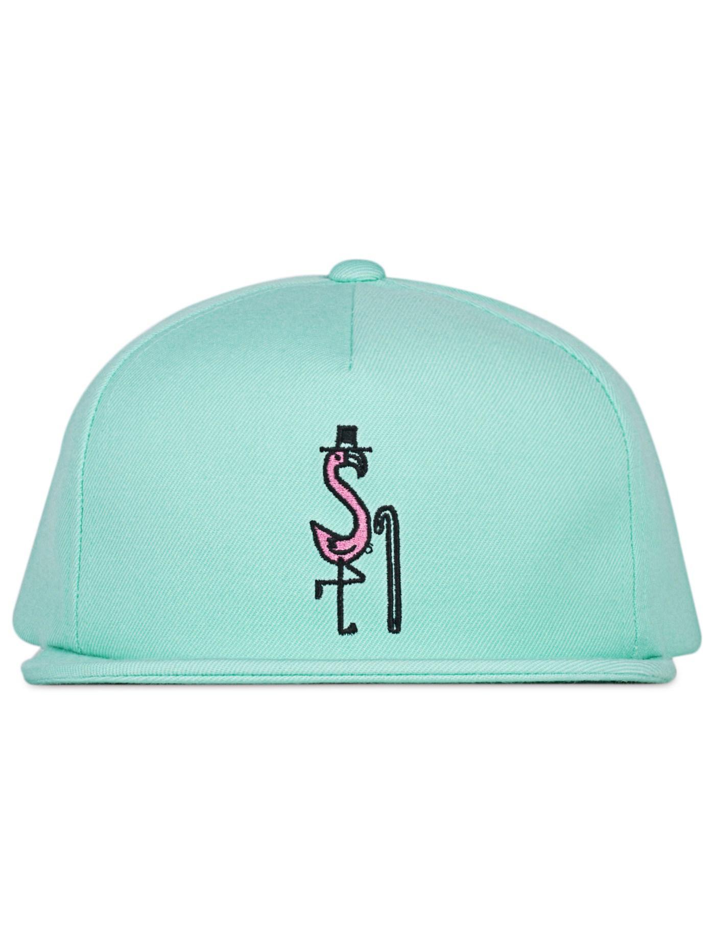 c0a0d3b3e53 Lyst - Stussy Flamingo Cap for Men