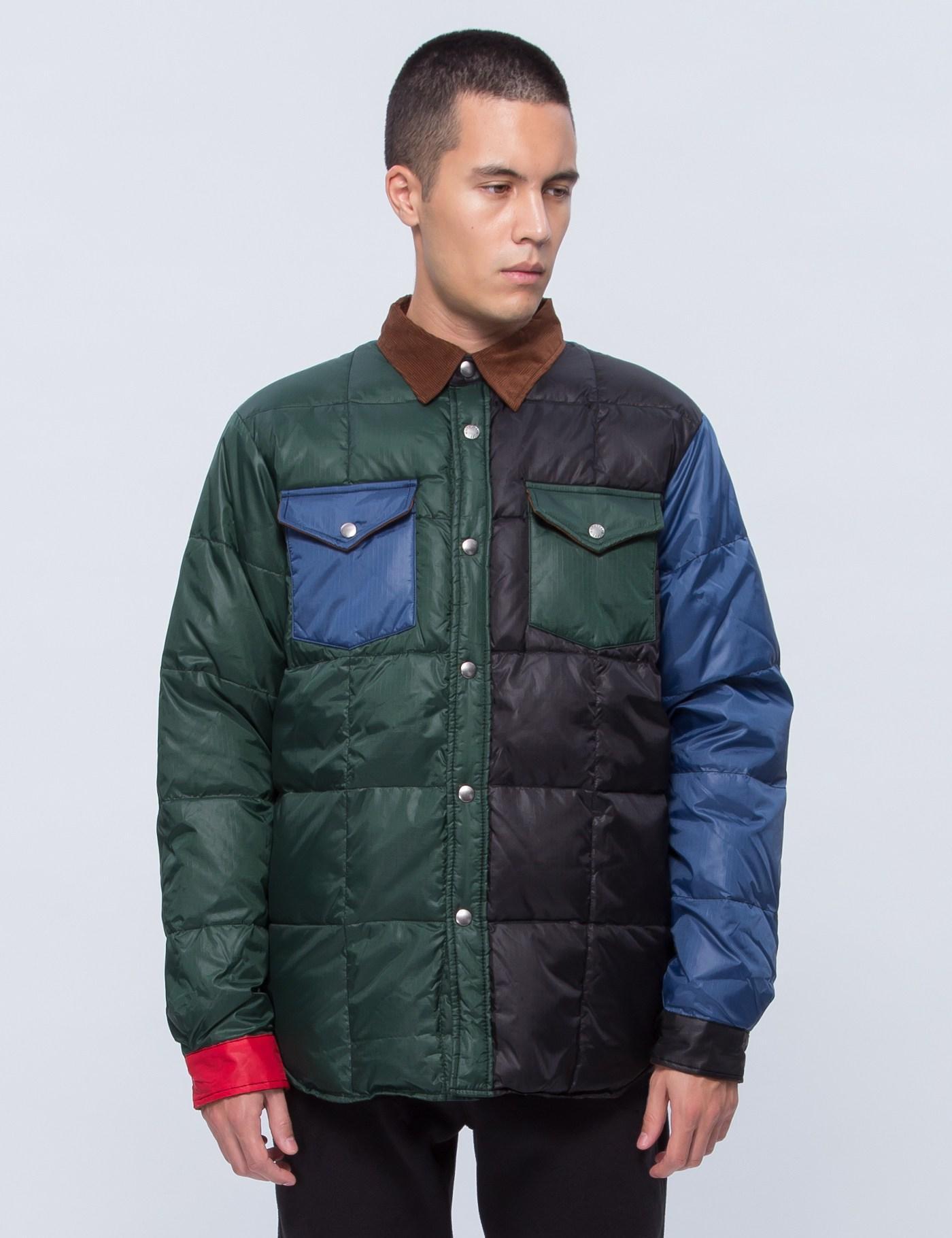 Lyst Manastash Logger Down Jacket In Brown For Men