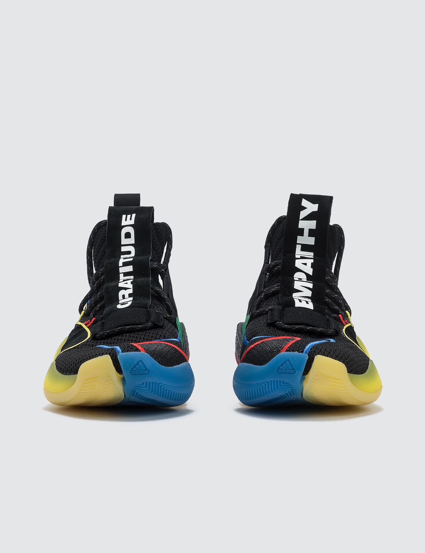 d592ba9ea1c3b Lyst - adidas Originals Pharrell Williams X Adidas Crazy Byw Lvl X in Black  for Men