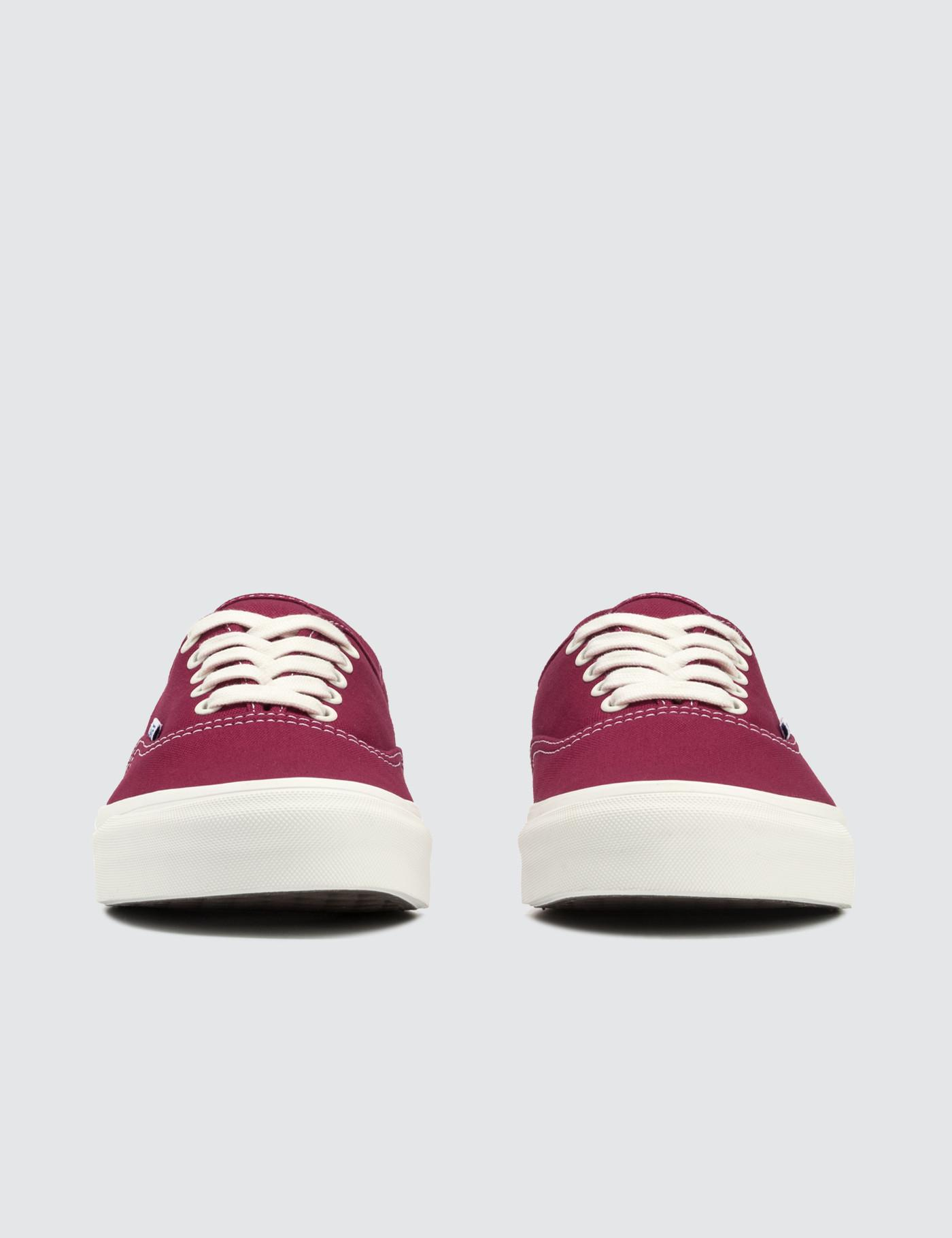 961ddb5007df39 Lyst - Vans Vault Og Authentic Lx in Red for Men