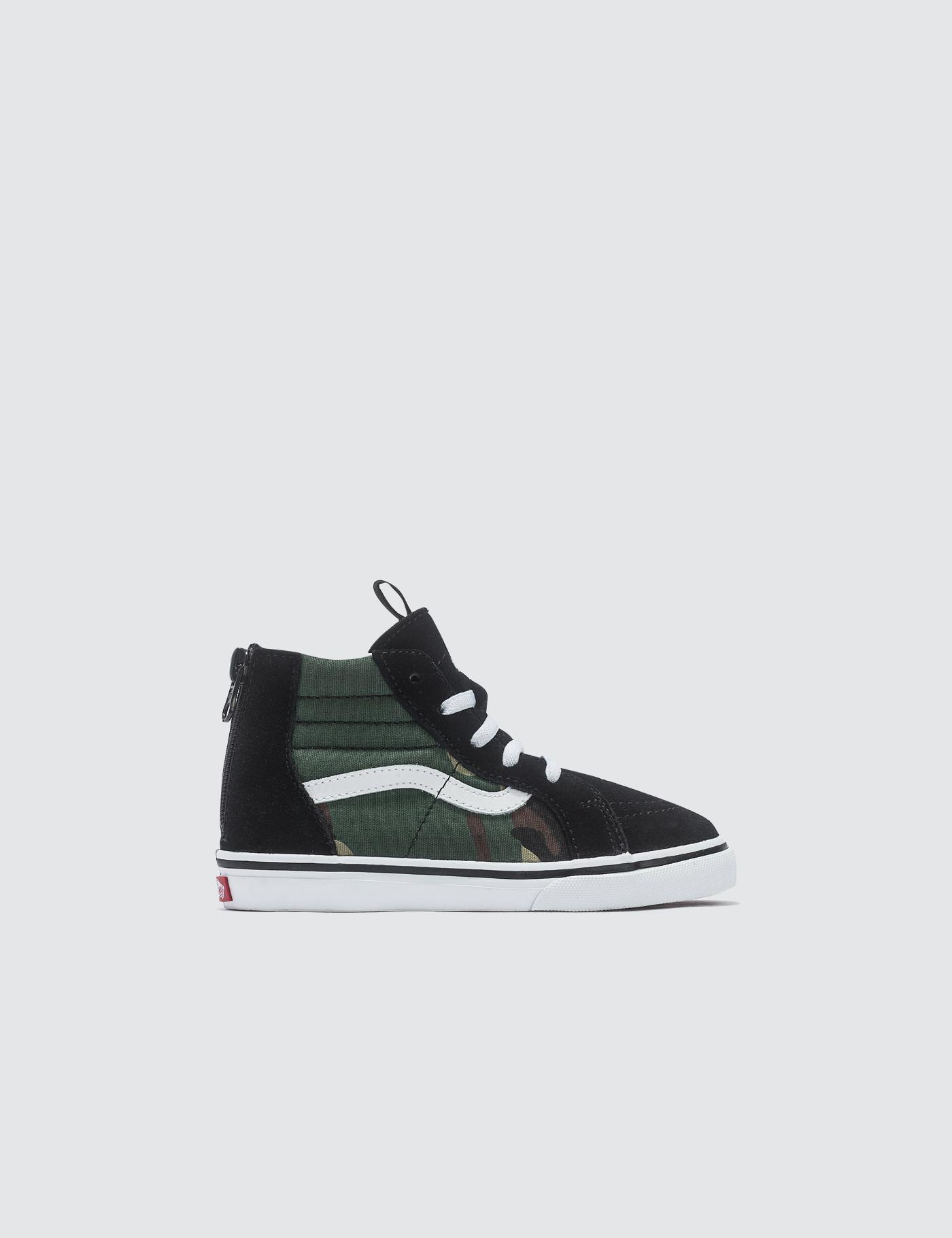 Lyst - Vans Sk8-hi Zip in Black for Men 4f15ac051
