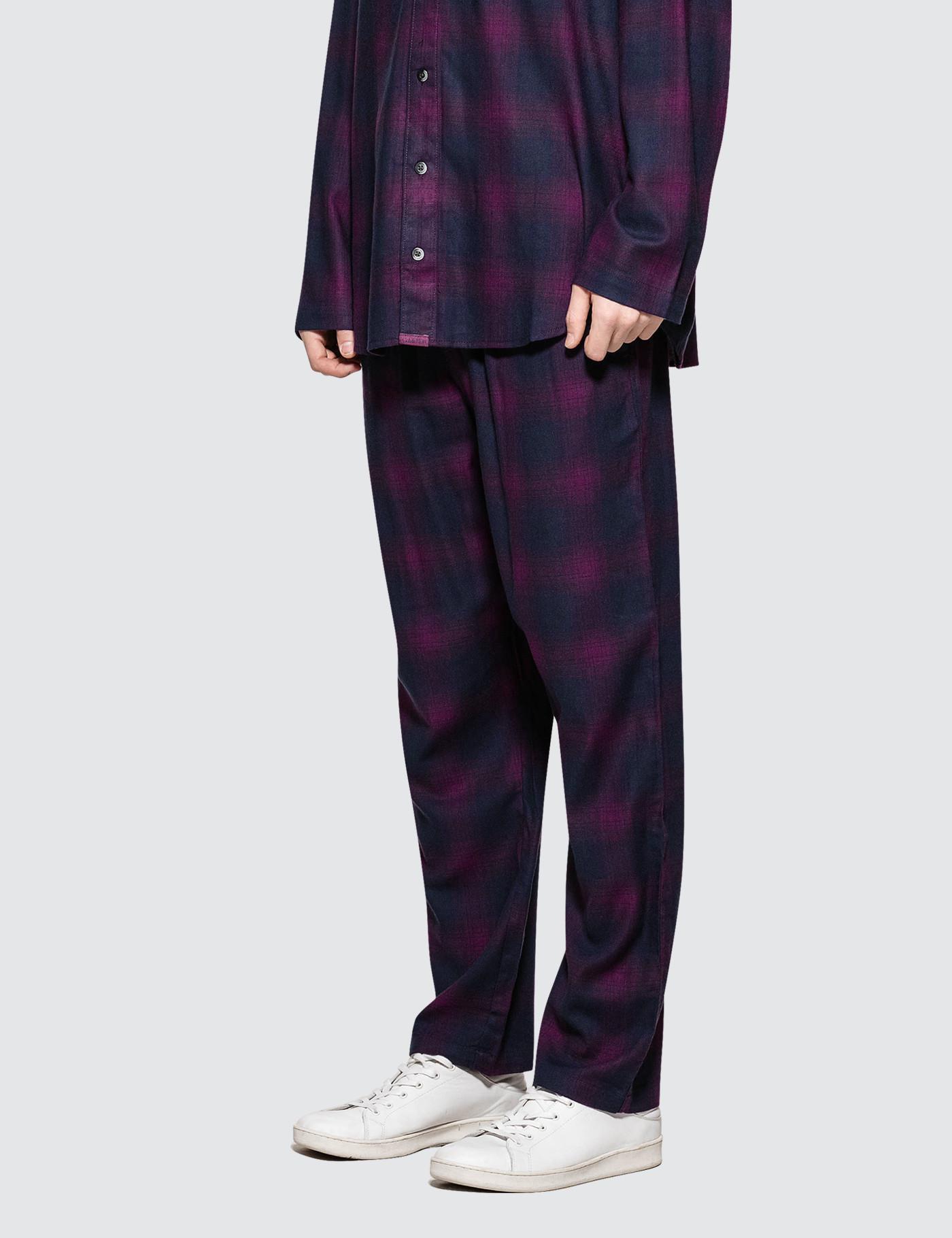 Calvin Klein Flannel Sleeping Pants in Purple for Men - Lyst 9d57fc721