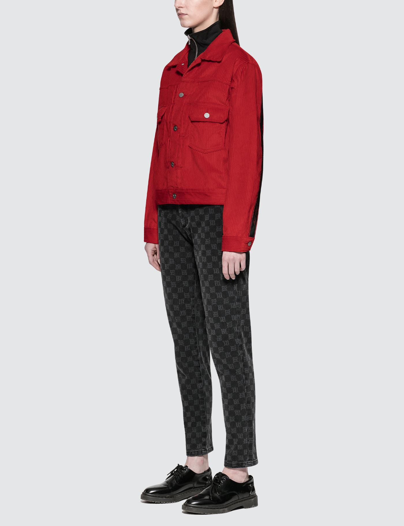 Lyst m i s b h v extacy cord jacket in red gallery voltagebd Gallery