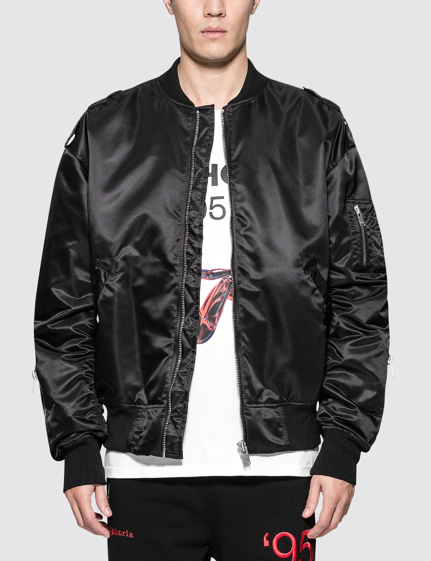 Clearance sale elegant shoes pretty and colorful MISBHV Synthetic Warszawa Bomber Jacket in Black for Men - Lyst