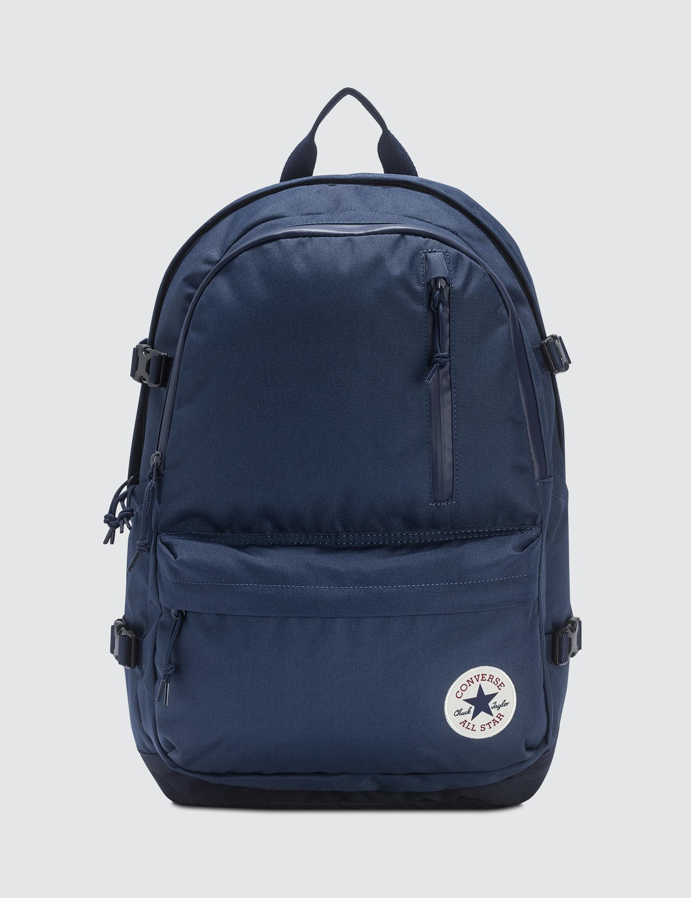 Converse Straight Edge Backpack Backpack in Blue for Men - Lyst 33c523d37ae36