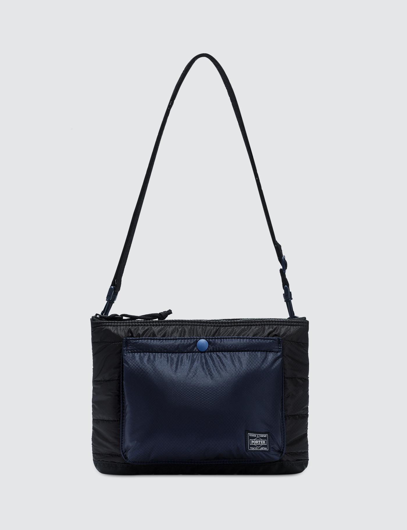 3948e7c22796 Head Porter Ruka Shoulder Bag in Black for Men - Lyst