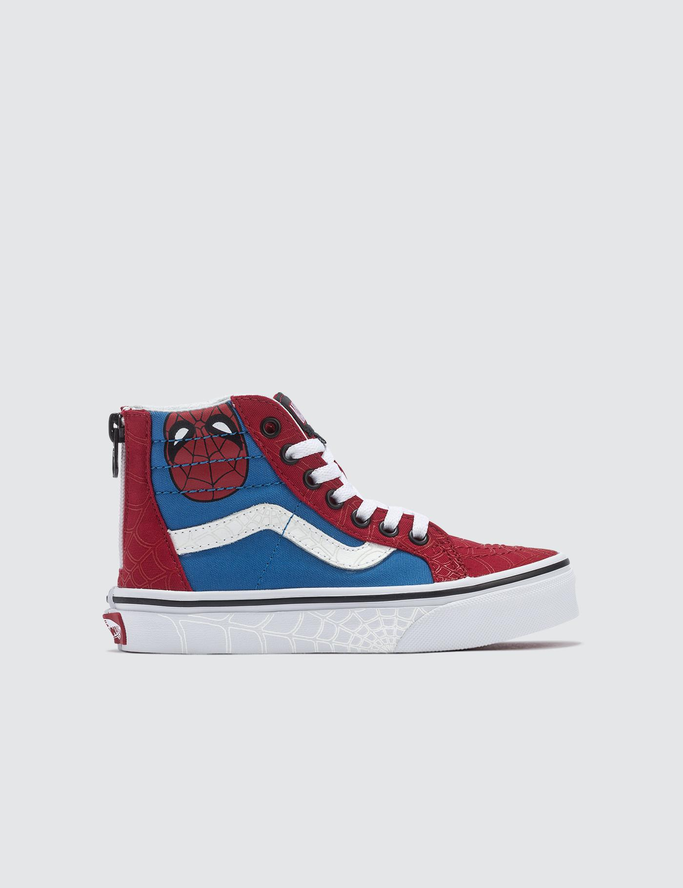 e372bff6e83 Vans Marvel Sk8-hi Zip in Red for Men - Lyst