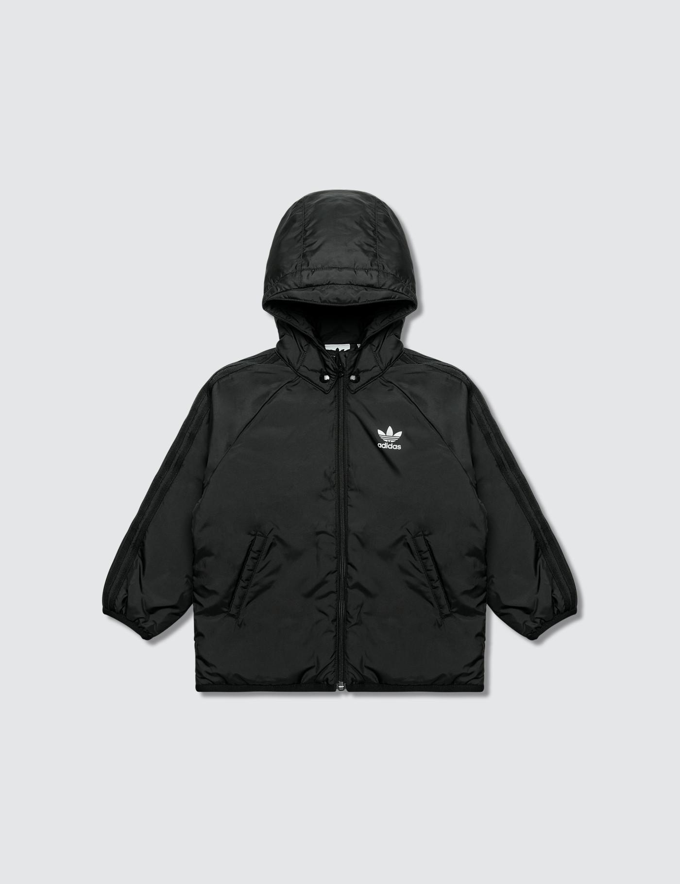 afc54ec3ff51 Adidas Originals Trefoil Jacket in Black for Men - Lyst