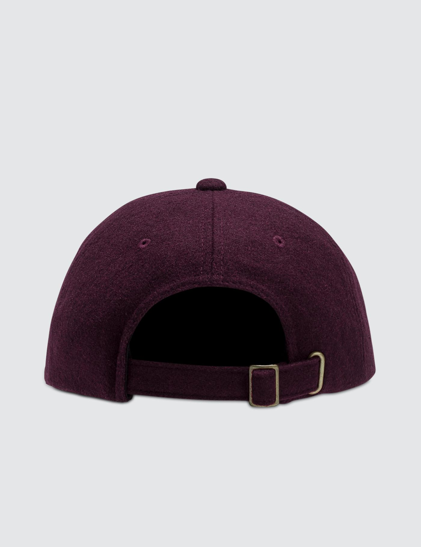 5e7a861fd77 Lyst - Stussy Stock Wool Low Pro Cap in Purple for Men