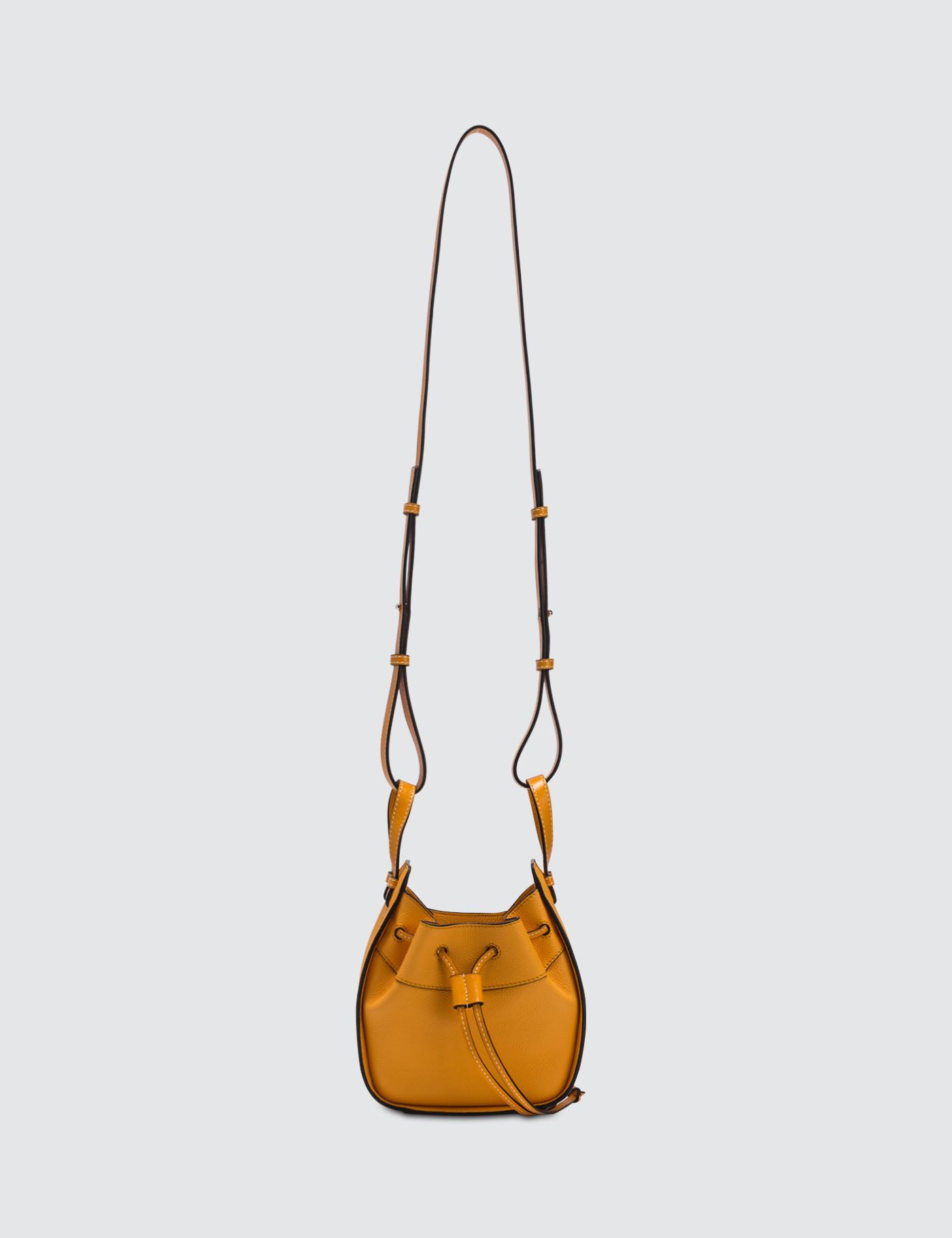 Lyst - Loewe Mini Hammock Bag in Orange 3d76de42e2830