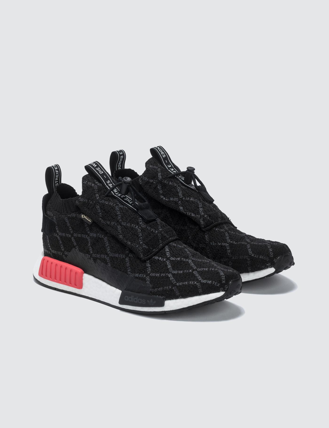 2337cdb36 Adidas Originals - Black Nmd Ts1 Gtx Primeknit for Men - Lyst. View  fullscreen