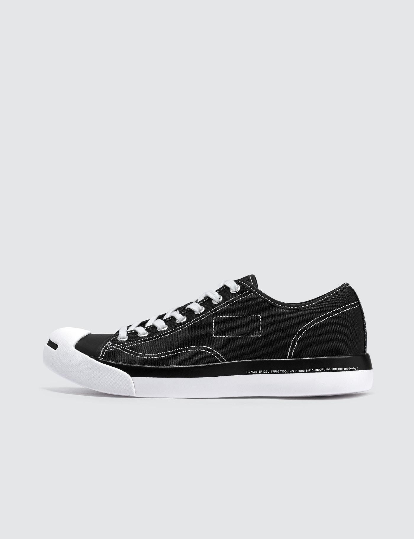 910bd664bd9f0e Lyst - Converse Fragment X Jack Purcell Modern Ox in Black for Men