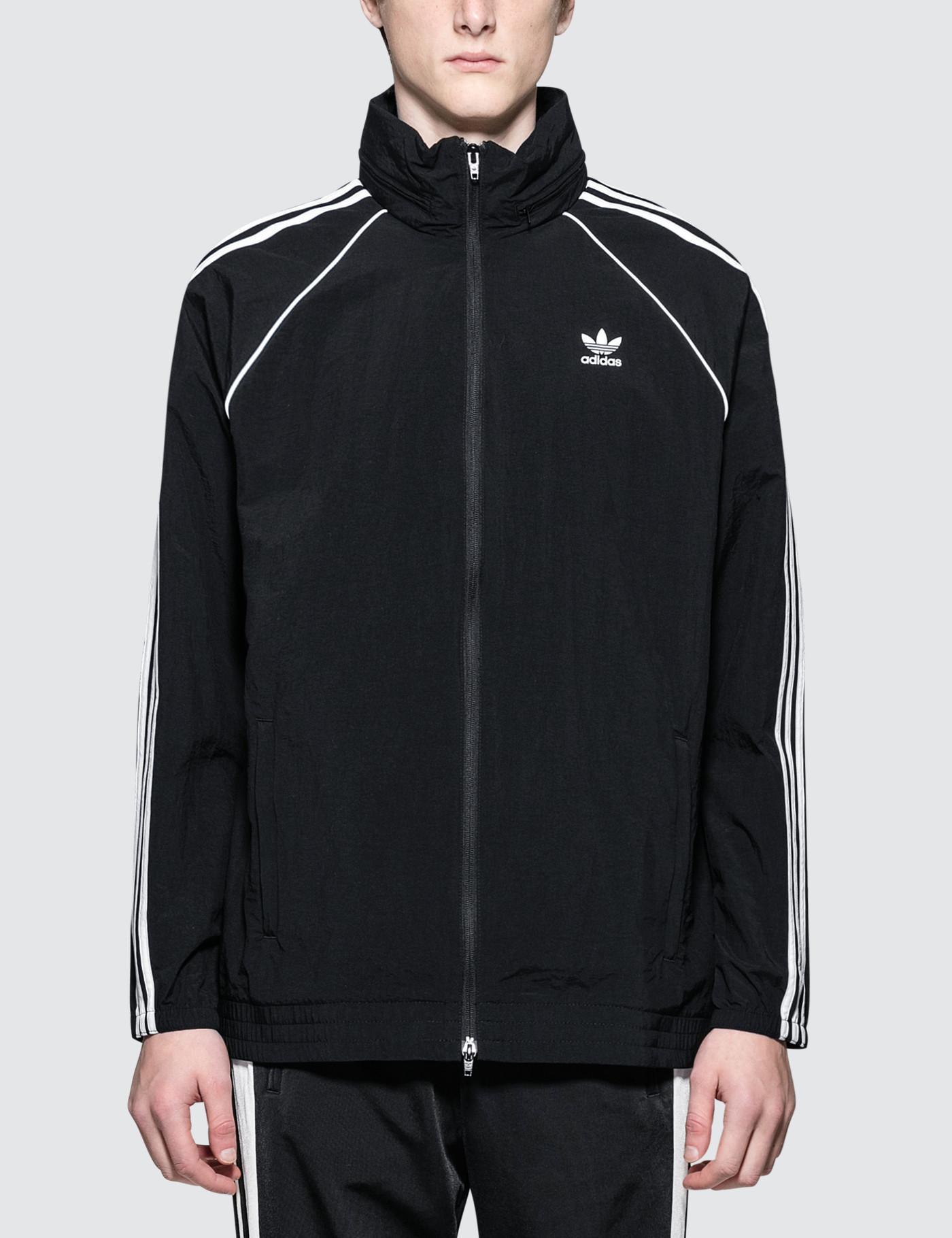 27fe46d75778 adidas Originals Sst Windbreaker Jacket - Mens S in Black for Men ...