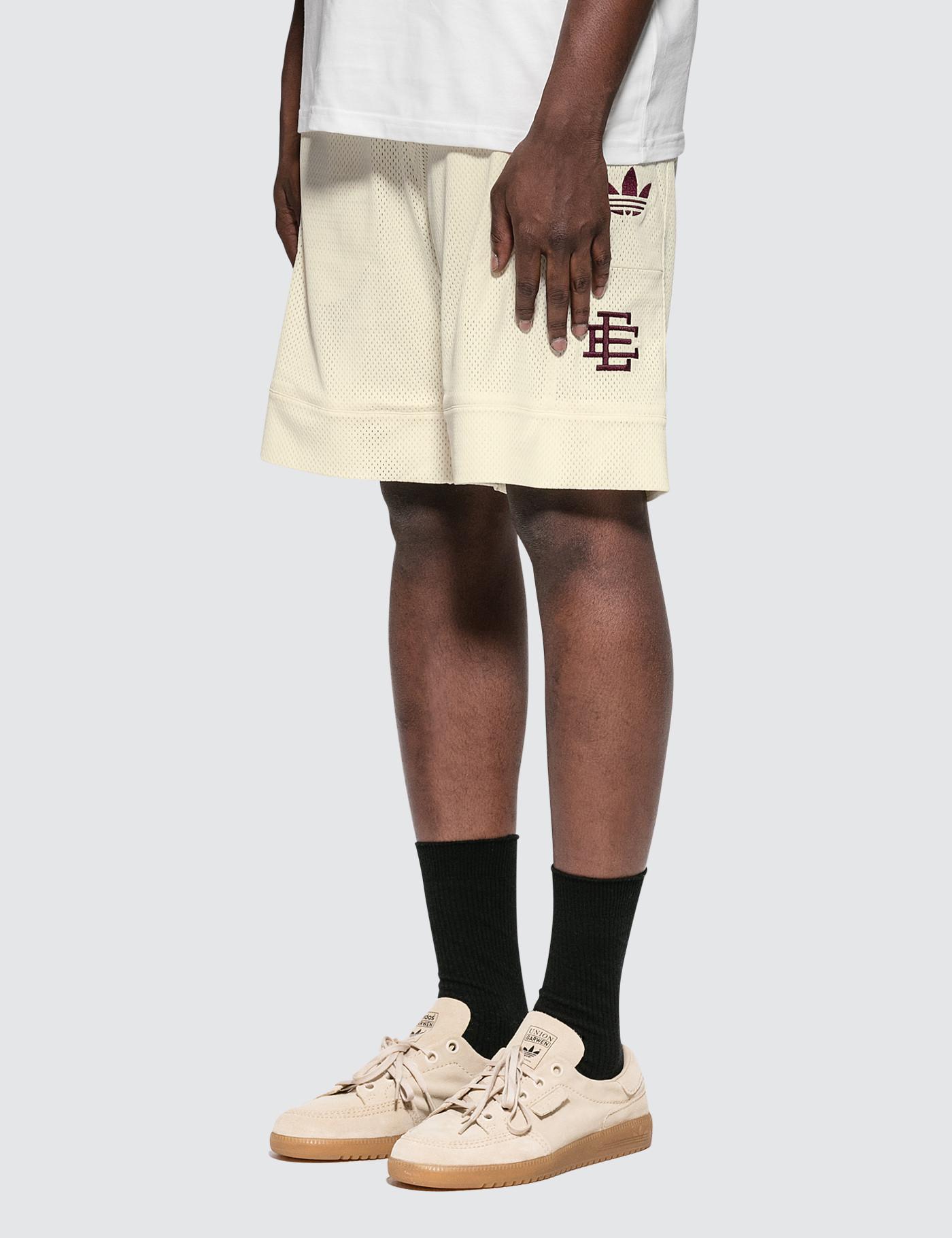 detailed look 607e9 47901 Adidas originals eric emanuel adidas heavy shorts in white for men jpg  1400x1820 Eric originals