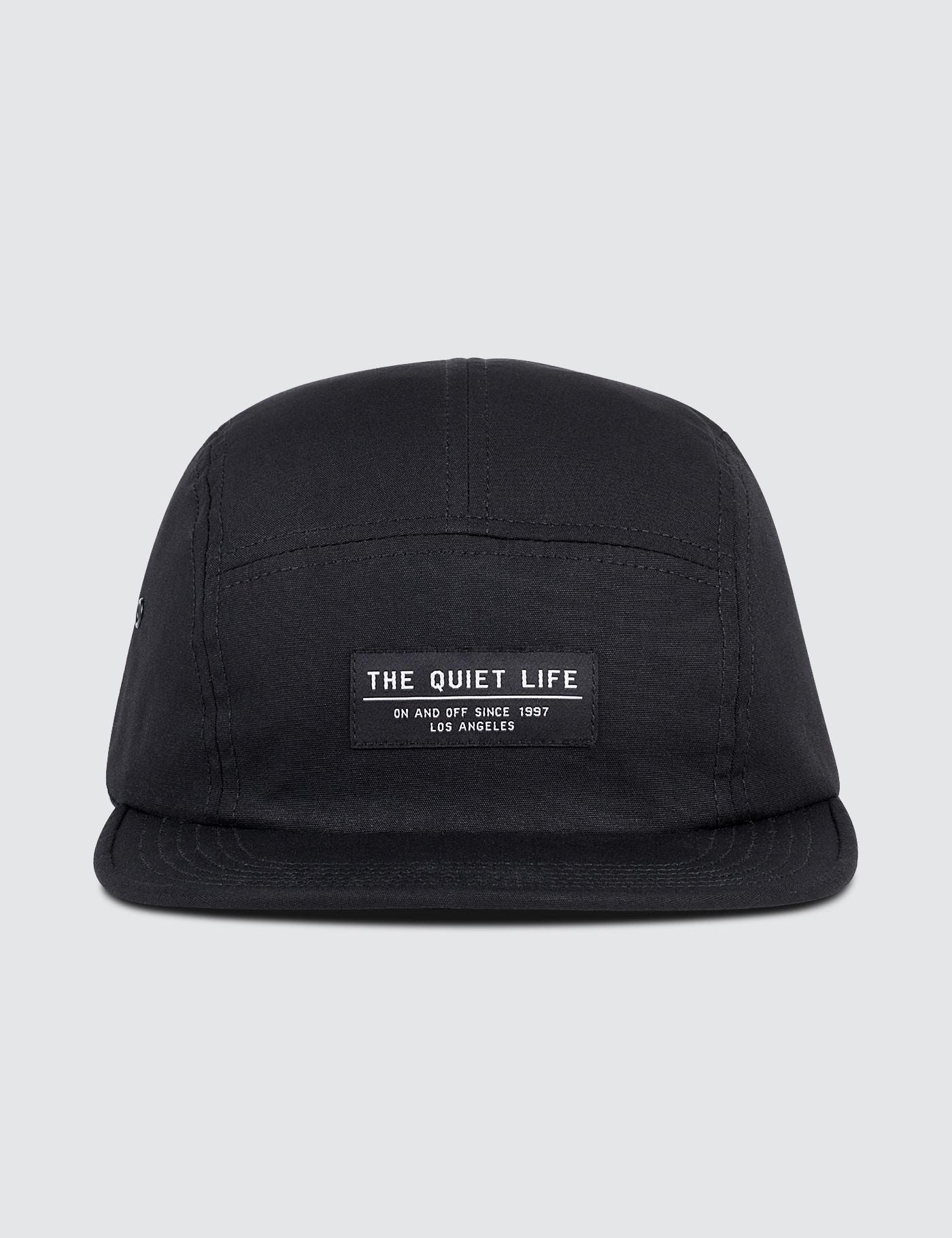 cfcf7de2364 Lyst - The Quiet Life Foundation 5 Panel Camp Cap in Black for Men