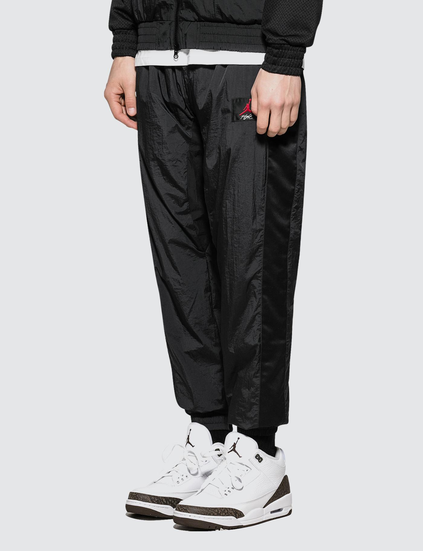 outlet store 7f5d9 80cfd Lyst - Nike As Flight Warm-up Pants in Black for Men