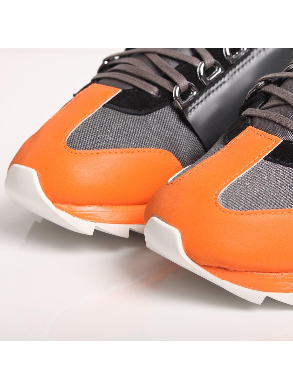 Y-3 Rhita Sport Contrast Sneakers Grey in Gray