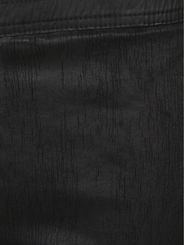 Rick owens drkshdw Wax Skinny Leggings Black in Black
