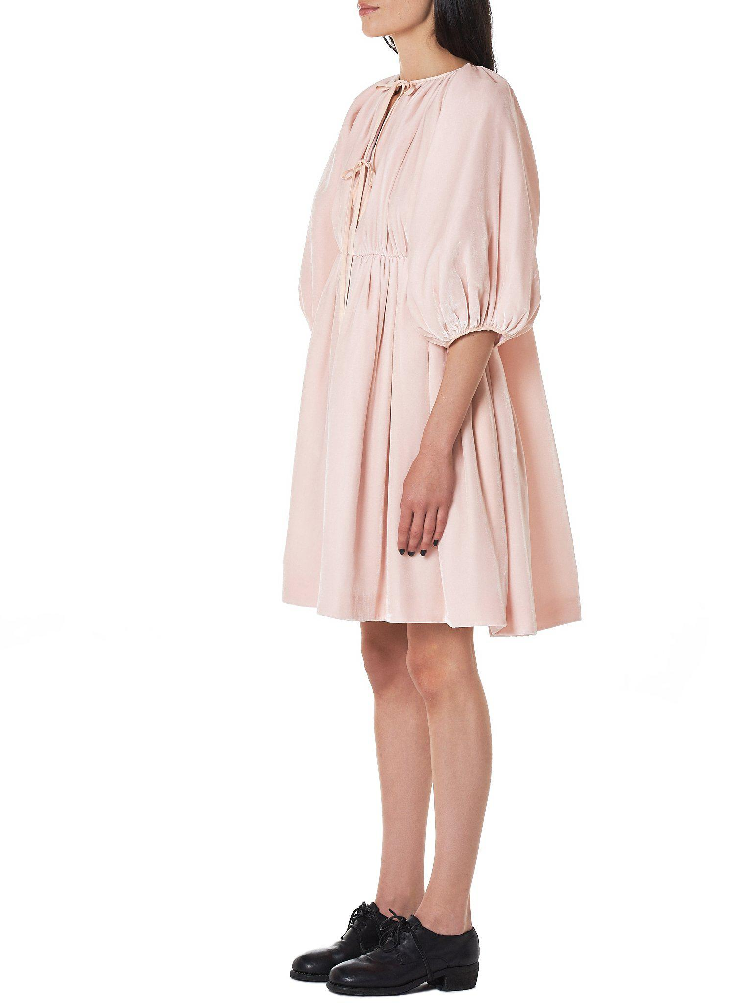 d8b484aaf279 Lyst - Cecile Bahnsen  ava  Puffed Sleeve Dress in Pink