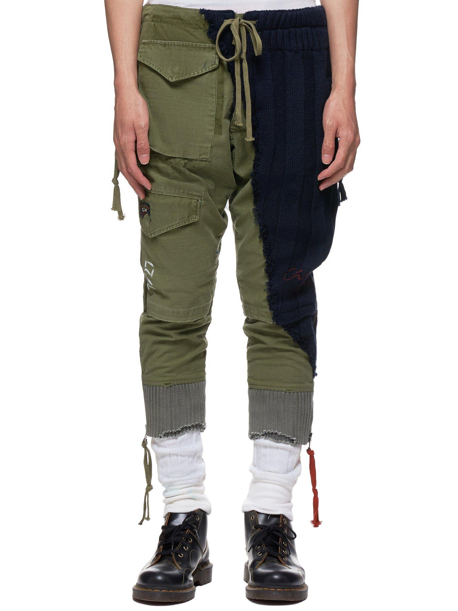 preview of good selling great deals on fashion Men's Green Bretagne Military Lounge Sweatpants