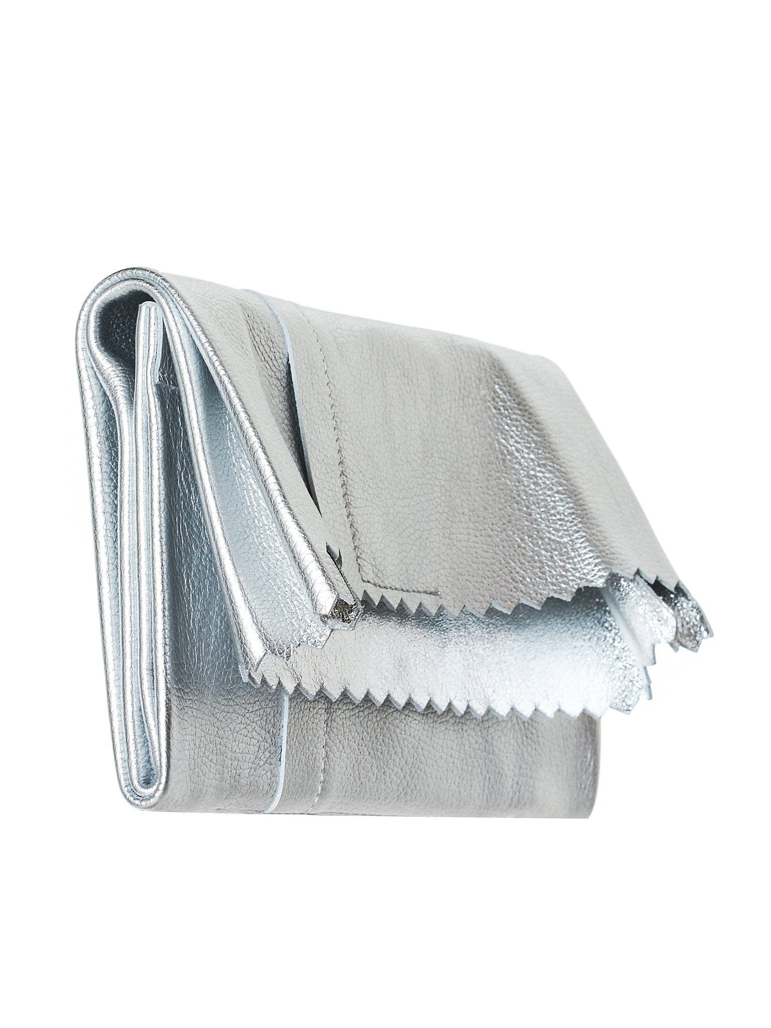 Silver Fold Over Clutch Maison Martin Margiela TPMJGYb