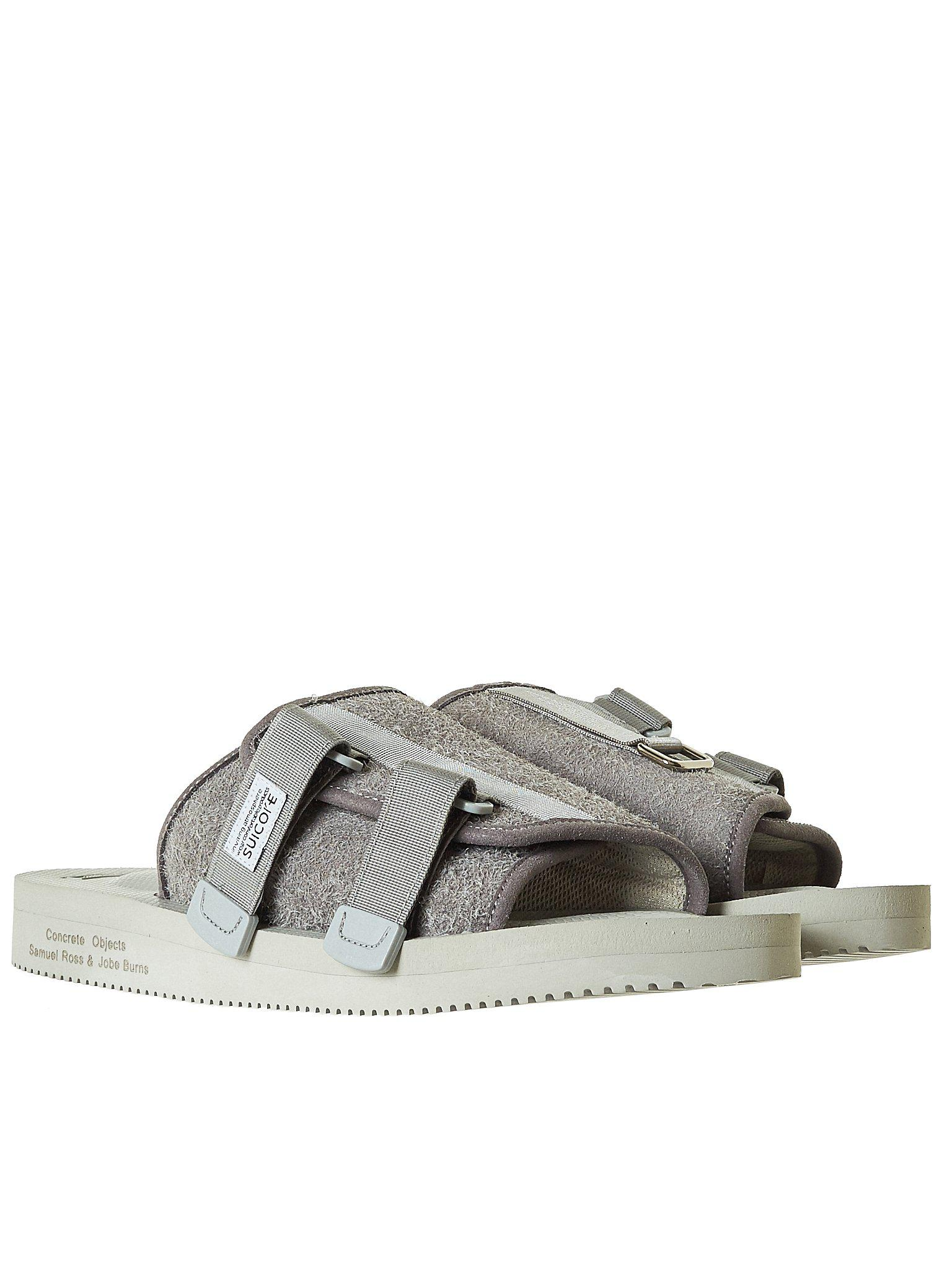 b1657a07f3 Suicoke Lead Resin Kaw Sandal in Gray for Men - Save 8% - Lyst