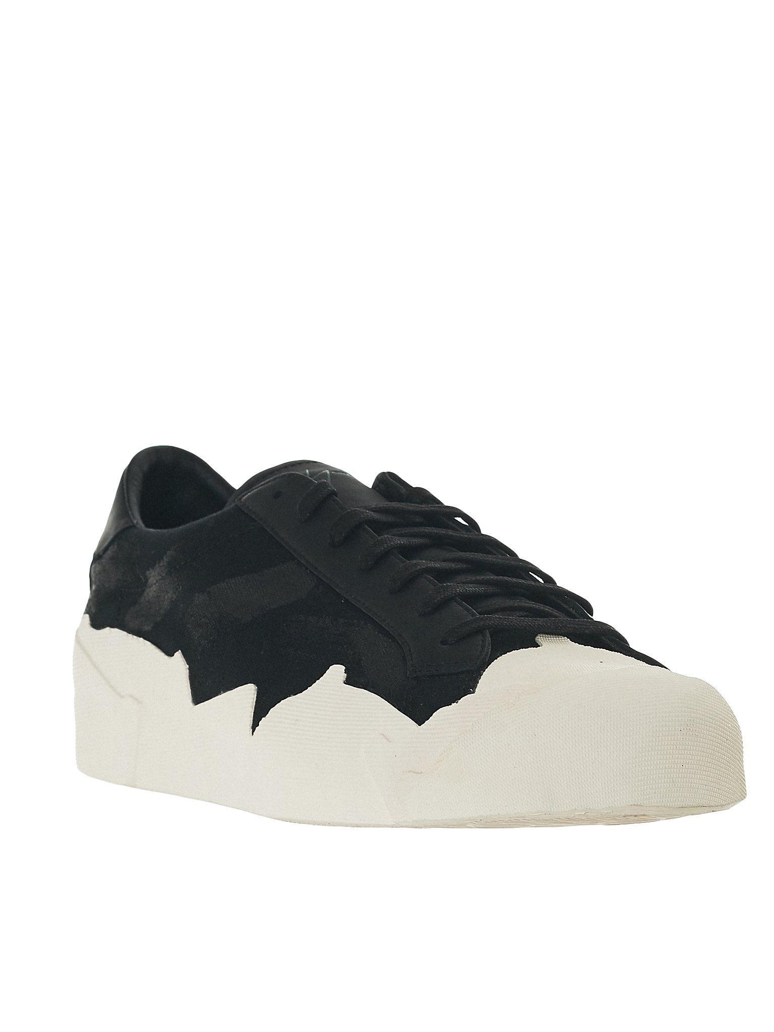 25088a9856065 Lyst - Yohji Yamamoto  takusan  Lace-up Sneakers in Black for Men