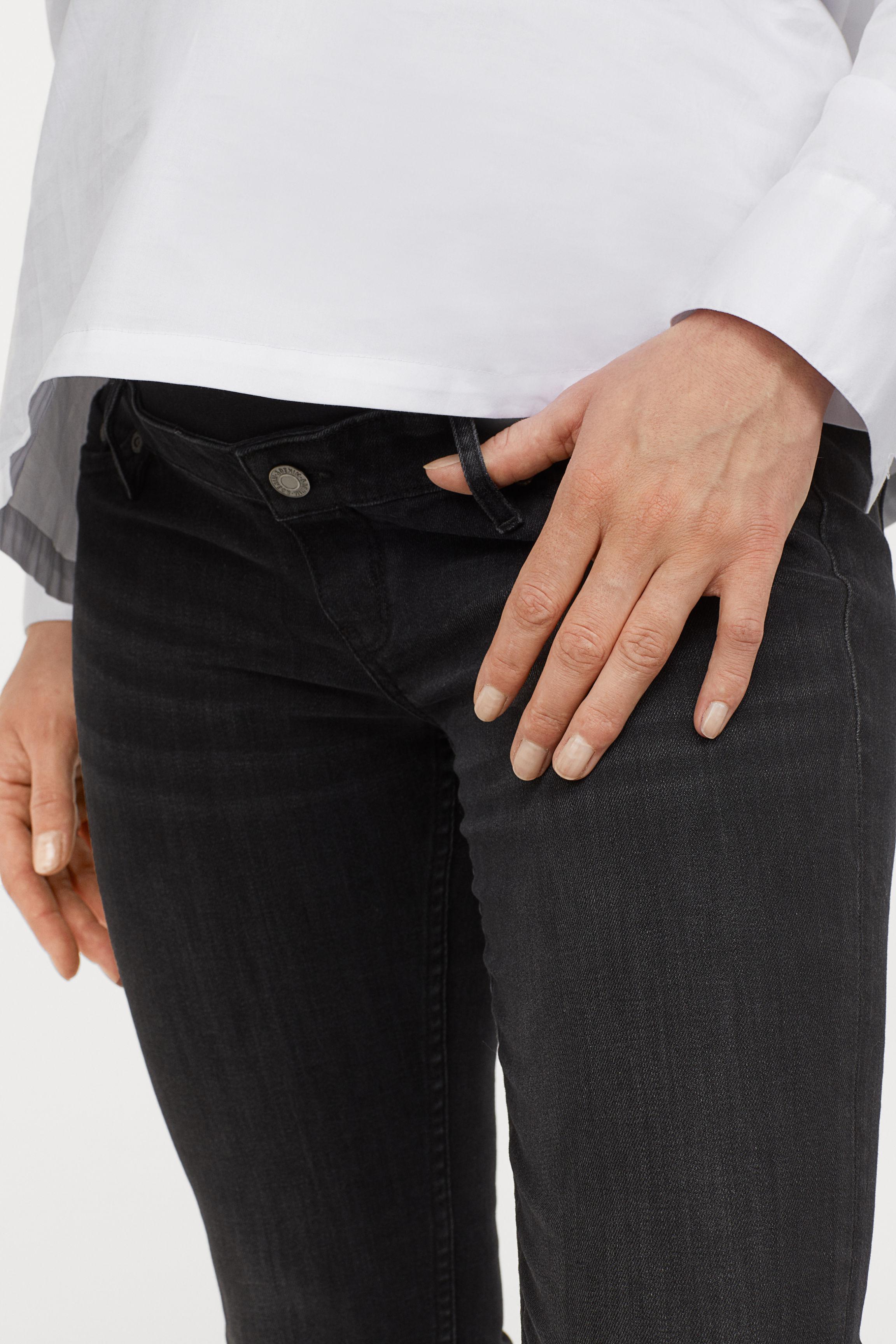 6c77e65347 H M - Black Mama Skinny Jeans - Lyst. View fullscreen