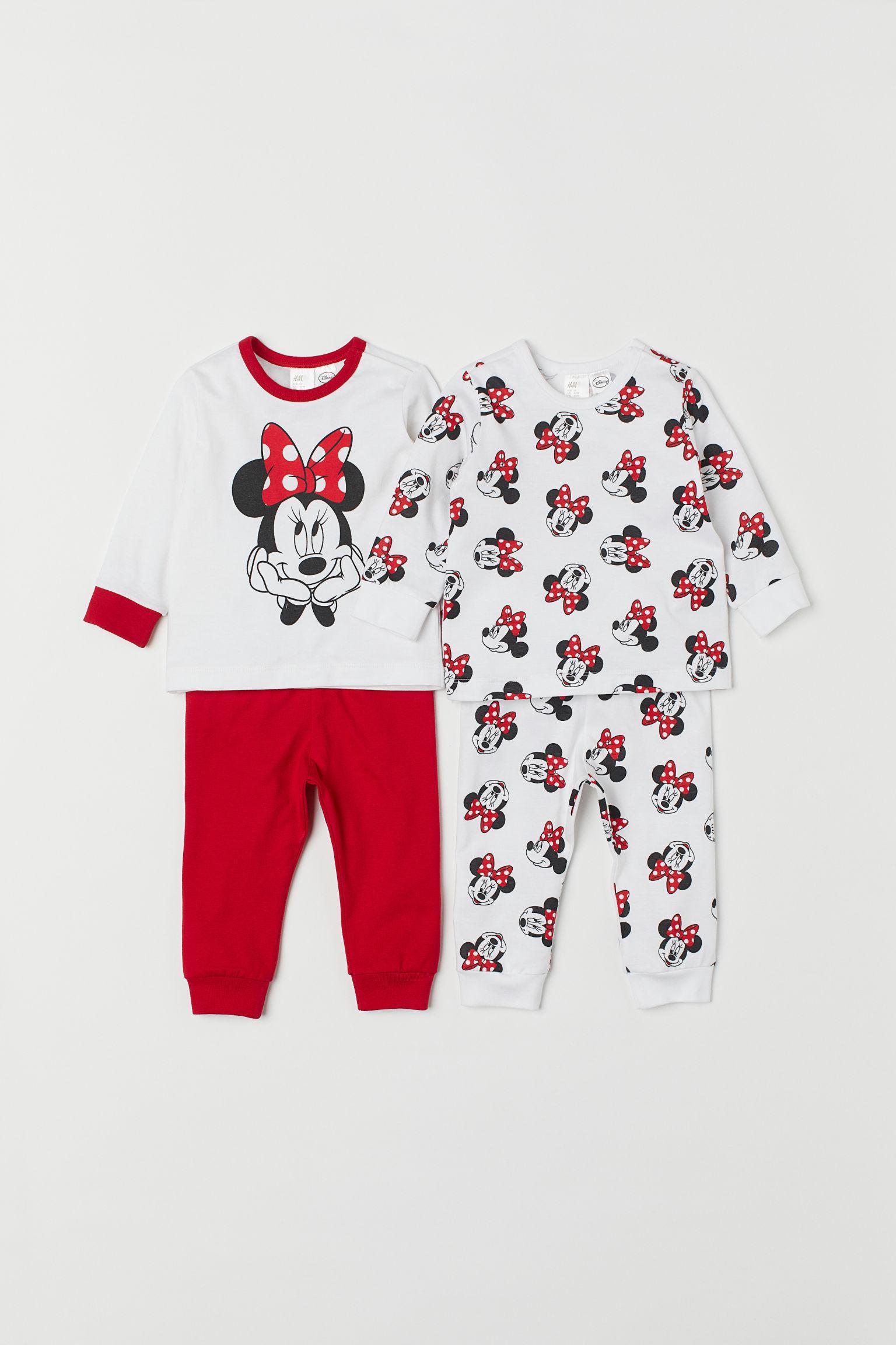 d3ebf6dba H M 2-pack Jersey Pyjamas in Red - Lyst