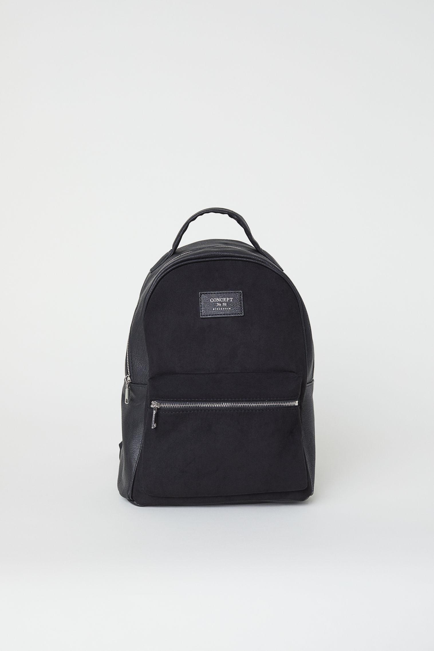 52d4e22f9f8 H M Backpack in Black - Lyst