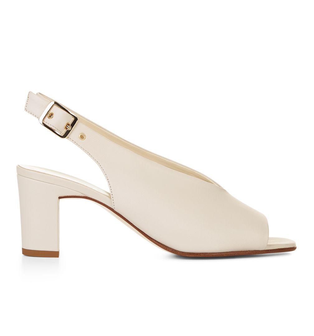 31c981f85af Lyst - Hobbs White  kali  Sandals in White - Save 70%